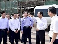 四川省副省长、党组成员杨洪波调研泸州云龙机场建设进度