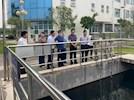 生态环境部西南督察局到兴泸污水公司检查长江经济带生态环境问题