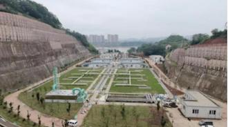 二道溪污水处理厂三期工程主体建成出水水质达到设计要求